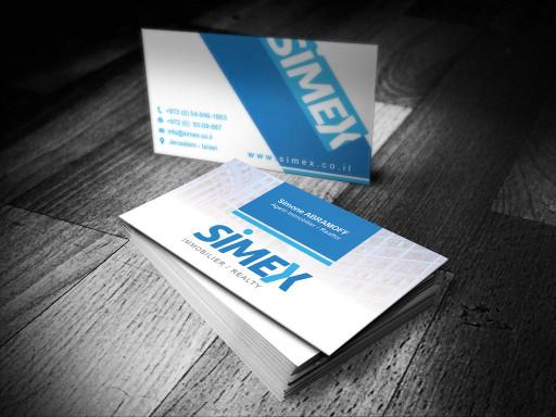 carte visite simex