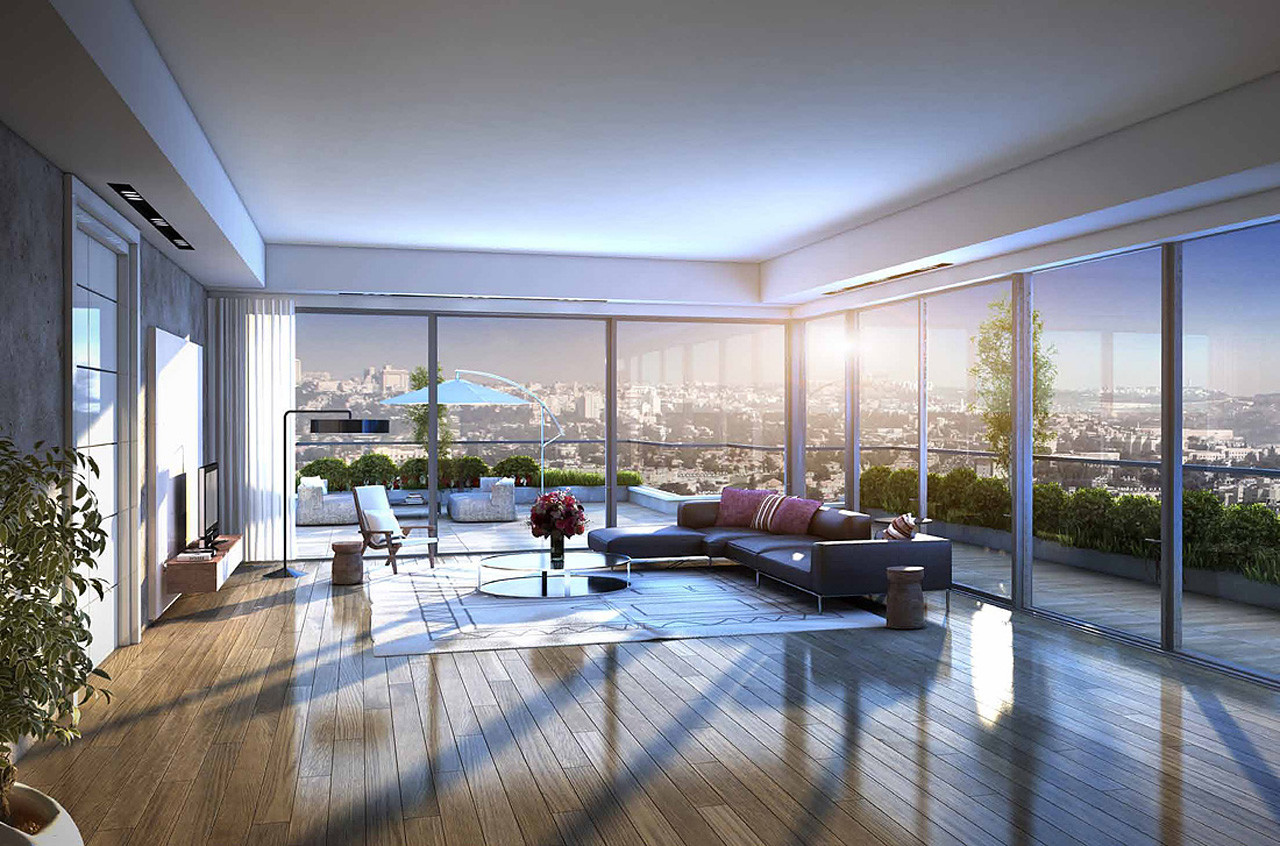 Apartments Arnona Jerusalem New Project Simex Realty