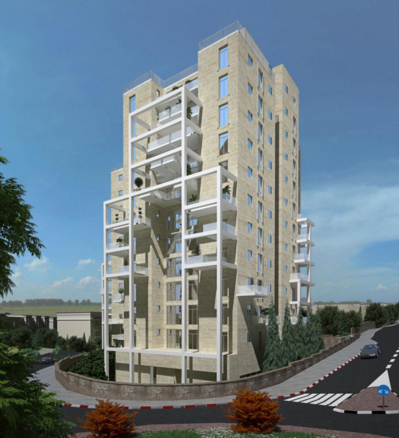 Apartments Ramot Jerusalem New Project