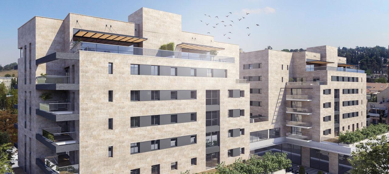 Appartements Projet Neuf de 2 à 6 pièces, Baka Jérusalem