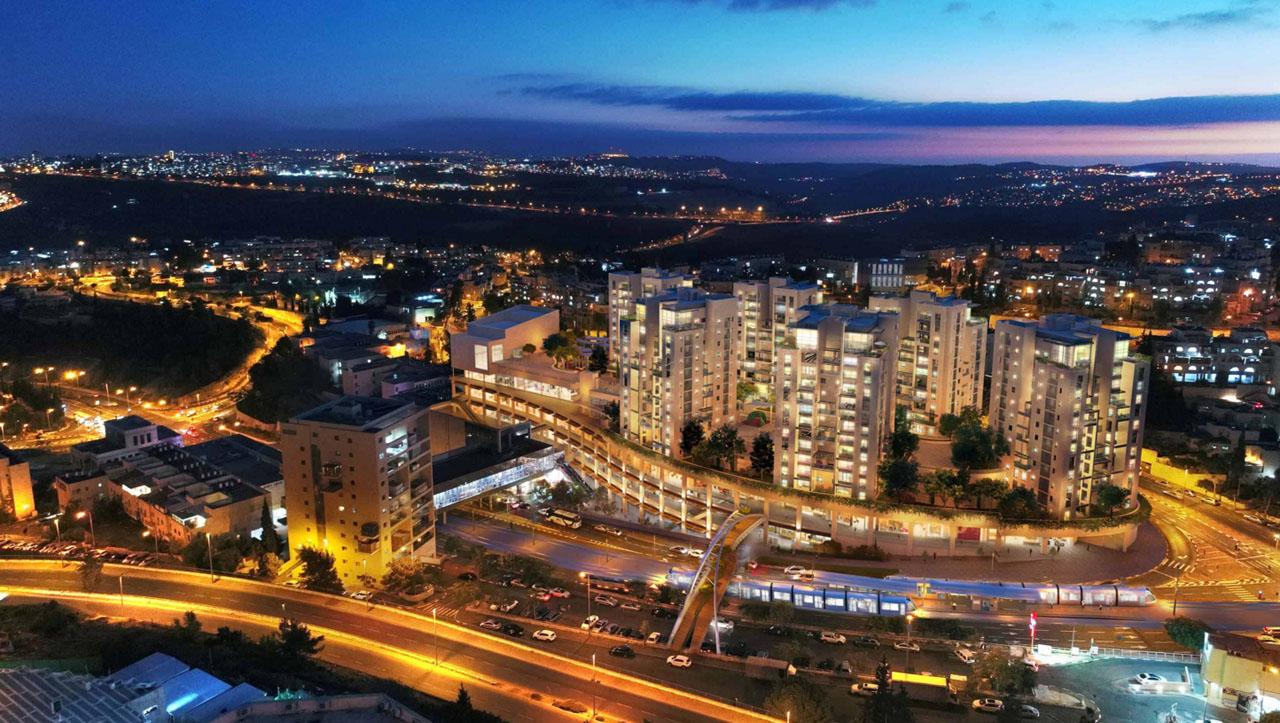 Appartements Projet Neuf, 3 au 5 pièces, Ramot Jérusalem